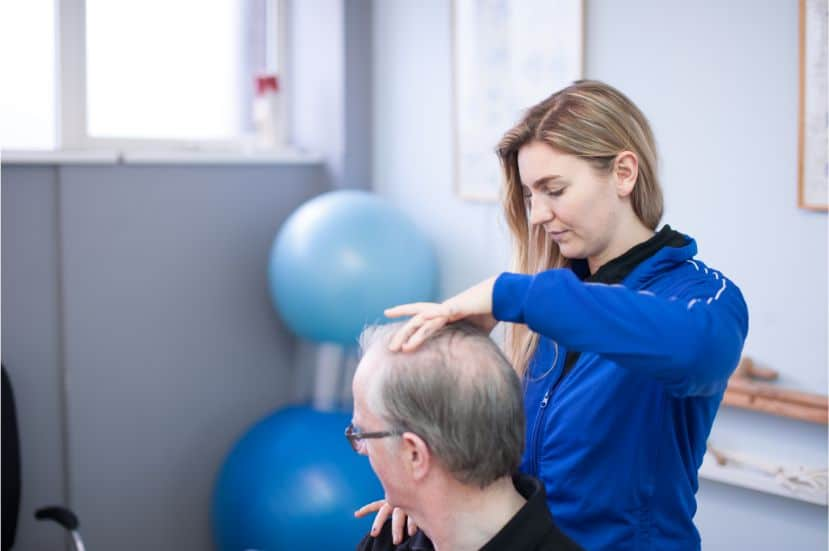 whiplash physiotherapy treatment